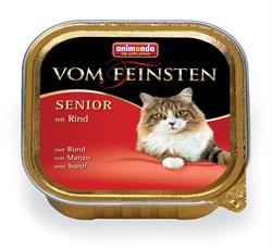 Консервы ANIMONDA Vom Feinsten Senior для пожилых кошек с говядиной - фото 9489