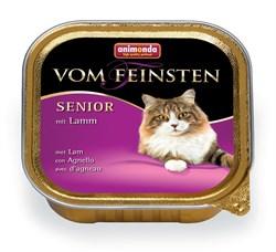 Консервы ANIMONDA Vom Feinsten Senior для пожилых кошек с ягненком - фото 9491