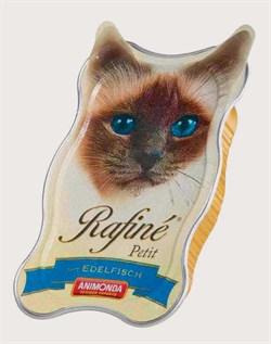 Консервы ANIMONDA Rafin Petit для взрослых кошек паштет из деликатесной рыбы - фото 9497