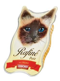 Консервы ANIMONDA Rafin Petit для взрослых кошек паштет из сердца - фото 9499