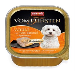Консервы ANIMONDA Vom Feinsten Adult для собак с курицей, бананом и абрикосами - фото 9577