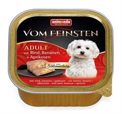 Консервы ANIMONDA Vom Feinsten Adult для собак с говядиной, бананом и абрикосами - фото 9585