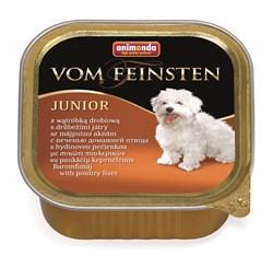 Консервы ANIMONDA Vom Feinsten Junior для щенков с печенью домашней птицы - фото 9593