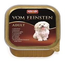 Консервы ANIMONDA Vom Feinsten Adult для собак с олениной - фото 9609