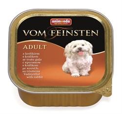 Консервы ANIMONDA Vom Feinsten Adult для собак с кроликом - фото 9611