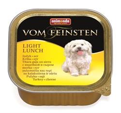 Консервы ANIMONDA Vom Feinsten Light Lunch для собак – облегченное меню с индейкой и сыром - фото 9615