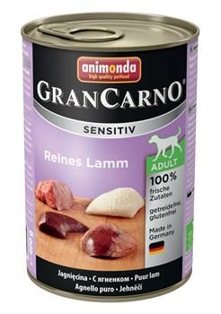 Консервы ANIMONDA GranCarno Sensitiv для чувствительных собак c ягненком - фото 9649