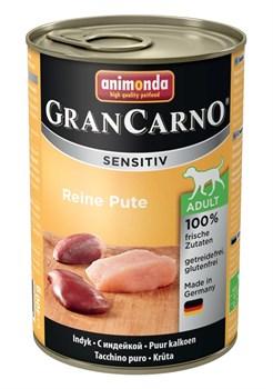 Консервы ANIMONDA GranCarno Sensitiv для чувствительных собак c индейкой - фото 9653
