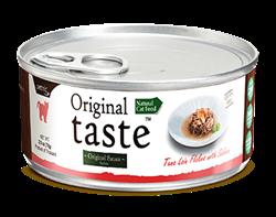 Консервы PETTRIC Original Taste для кошек филе тунца с диким лососем в соусе Tuna Loin Flakes with Wild Salmon in Sauce - фото 9684