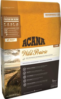 Беззерновой сухой корм ACANA Wild Prairie Cat для взрослых кошек и котят с цыпленком - фото 9692