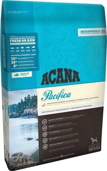 Беззерновой сухой корм ACANA Pacifica Dog для собак всех пород и возрастов с рыбой - фото 9707