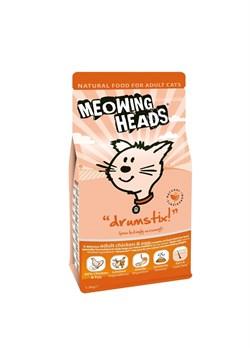 """Сухой корм BARKING (MEOWING) HEADS для взрослых кошек с курицей и яйцом """"Аппетитная курочка"""" - фото 9898"""