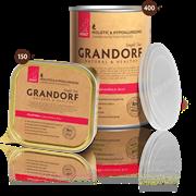 Консервы GRANDORF для взрослых собак всех пород с телятиной