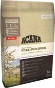 Беззерновой сухой корм ACANA Singles FREE-RUN DUCK для собак с чувствительным пищеварением с уткой