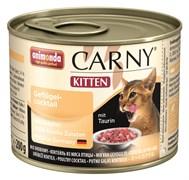 Консервы ANIMONDA CARNY Kitten для котят коктейль из мяса птицы
