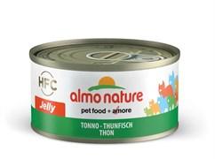 Консервы ALMO NATURE HFC Adult Cat Tuna Jelly для взрослых кошек с тунцом в желе 75% мяса