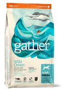 Корм Gather Органический Беззерновой для собак с океанической рыбой (GATHER Wild Ocean Fish DF)