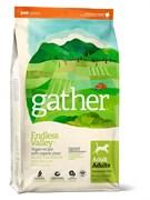 Органический вегетарианский сухой корм GATHER для собак