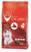 Комкующийся наполнитель VAN CAT натуральный без пыли и запаха