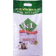 Силикагелевый наполнитель для котят Crystals № 1 for Kitten