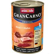 Консервы ANIMONDA GranCarno Original Junior для щенков с говядиной и курицей