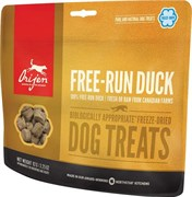 Лакомство Orijen Free-Run Duck для щенков и собак с уткой
