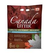 Наполнитель Canada Litter: канадский комкующийся наполнитель  Запах на Замке  (Scoopable Litter) с ароматом детской присыпки