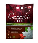 Наполнитель Canada Litter: канадский комкующийся наполнитель  Запах на Замке  (Scoopable Litter) без запаха