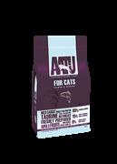Беззерновой cухой корм AATU Cat Salmon/Herring для взрослых кошек с лососем и сельдью