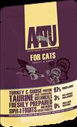 Пауч AATU для взрослых кошек с индейкой и гусем