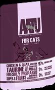 Пауч AATU для взрослых кошек с курицей и перепелом