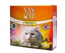 Комкующийся наполнитель VAN CAT натуральный без пыли и запаха (коробка) 10 кг