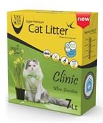 Комкующийся наполнитель VAN CAT Antibacterial с антибактериальным эффектом без пыли 6 кг