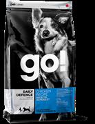 Сухой корм GO! NATURAL для щенков и взрослых собак с цельной курицей, фруктами и овощами