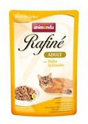 Пауч ANIMONDA Rafin Soup Adult для взрослых кошек с курицей в яичном пудинге