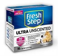 Fresh Step Unscented Комкующийся без запаха