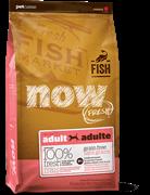 Беззерновой сухой корм Now! Grain Free Fish Adult Recipe для взрослых собак с чувствительным пищеварением с форелью и лососем