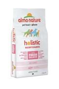 Сухой корм ALMO NATURE Medium Salmon для взрослых собак средних пород с лососем