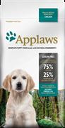 Беззерновой сухой корм APPLAWS Dry Dog Chicken Small/Medium Breed Puppy для щенков малых и средних пород с курицей и овощами
