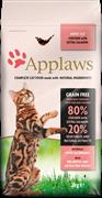 Беззерновой сухой корм APPLAWS для взрослых кошек с курицей, лососем и овощами (Dry Cat Chicken/Salmon)