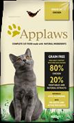 Беззерновой сухой корм APPLAWS для пожилых кошек с курицей и овощами (Dry Cat Senior)