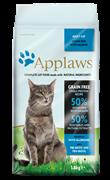Беззерновой сухой корм APPLAWS для взрослых кошек океаническая рыба, лосось (Dry Cat Oceanic Fish/Salmon)