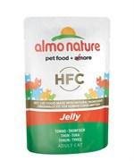 Пауч ALMO NATURE для взрослых кошек тунец в желе Classic Nature Jelly – Tuna