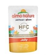 Пауч ALMO NATURE для взрослых кошек с курицей в желе Classic Nature Jelly – Cat Chicken