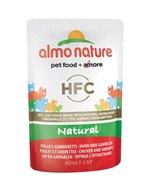 Пауч ALMO NATURE Classic Nature – Chicken/Shrimps для взрослых кошек с курицей и креветками