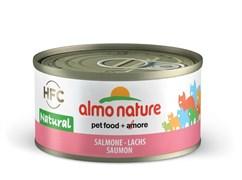 Консервы ALMO NATURE Legend Adult Cat Salmon для взрослых кошек с лососем 75% мяса