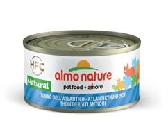 Консервы ALMO NATURE Legend Adult Cat Atlantic Tuna для взрослых кошек с атлантическим тунцом