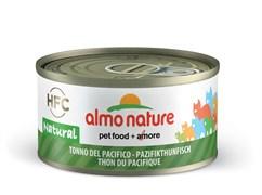 Консервы ALMO NATURE Legend Pacific Ocean Tuna для взрослых кошек с тихоокеанским тунцом 75% мяса