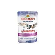 Пауч ALMO NATURE Alternative для взрослых кошек с тунцом индийского океана 91% мяса (Indian Ocean Tuna)
