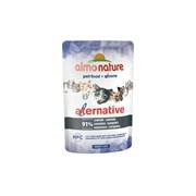 Пауч ALMO NATURE Alternative – Sardines для взрослых кошек с сардинами 91% мяса